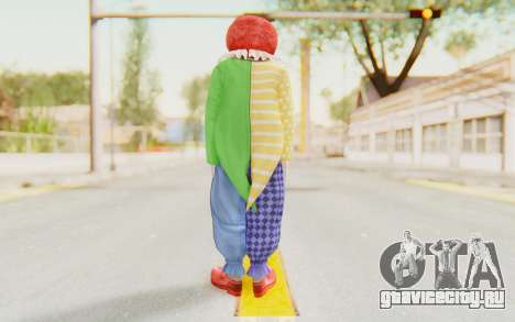 Dead Rising - Adam Macintyre The Clown для GTA San Andreas третий скриншот