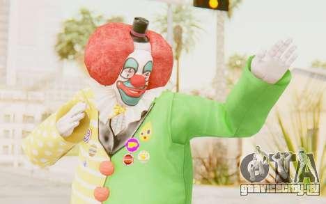 Dead Rising - Adam Macintyre The Clown для GTA San Andreas