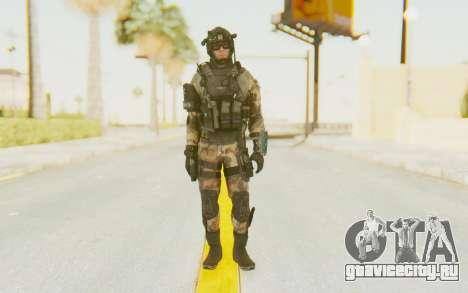 Federation Elite Assault Woodland-Flora для GTA San Andreas второй скриншот