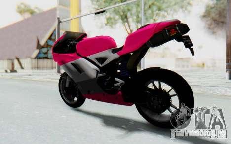 Ducati 1098R High Modification для GTA San Andreas вид слева