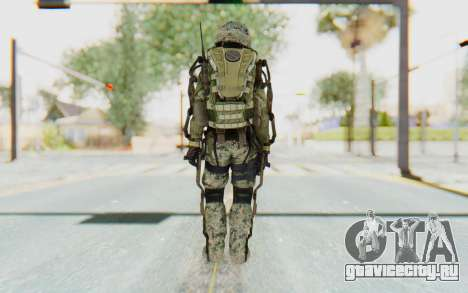 CoD AW US Marine Assault v4 Head D для GTA San Andreas третий скриншот