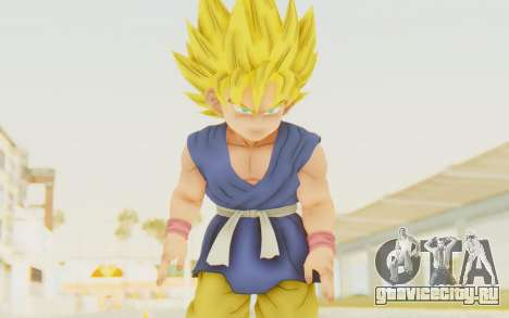 Dragon Ball Xenoverse Goku Kid GT SSJ для GTA San Andreas