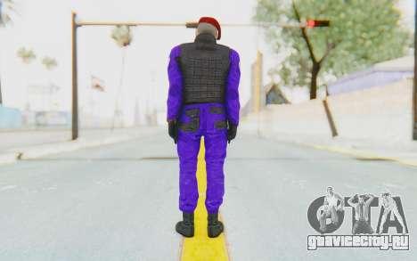 Bahrain Officer для GTA San Andreas третий скриншот