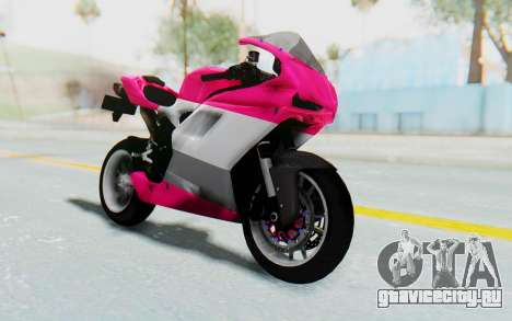 Ducati 1098R High Modification для GTA San Andreas