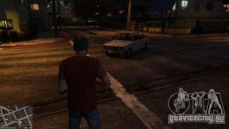 Смена личного транспорта персонажей для GTA 5 третий скриншот