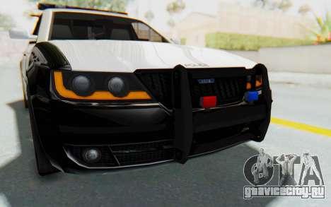 ASYM Desanne XT Pursuit v3 для GTA San Andreas вид сверху