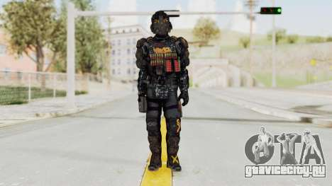 CoD Advanced Warfare KVA Heavy Soldier для GTA San Andreas второй скриншот