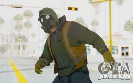 The Division Cleaners - Shield для GTA San Andreas