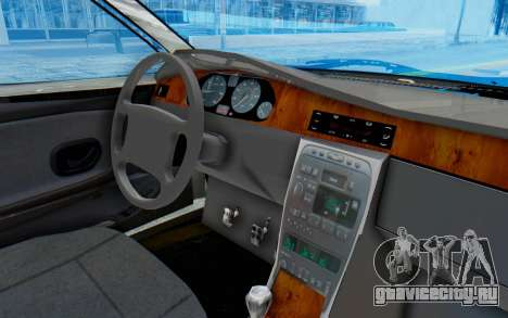 Ikco Soren Full Sport для GTA San Andreas вид изнутри