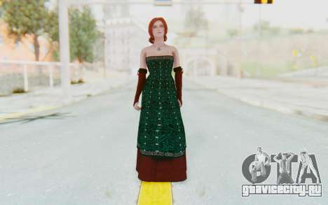 The Witcher 3 - Triss Merigold Dress для GTA San Andreas второй скриншот
