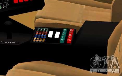 K.I.T.T. 2000 Pilot для GTA San Andreas вид справа
