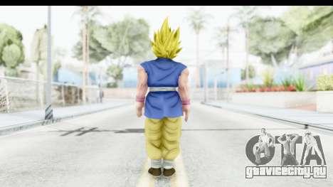 Dragon Ball Xenoverse Goku GT Adult SSJ2 для GTA San Andreas третий скриншот