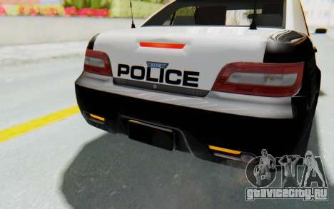 ASYM Desanne XT Pursuit v3 для GTA San Andreas салон