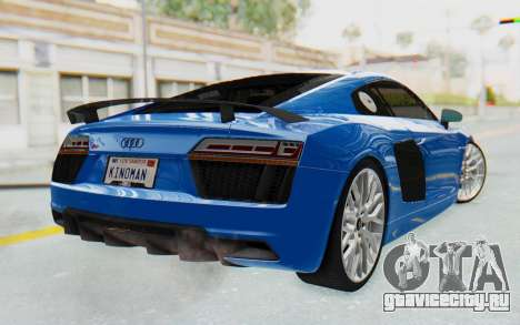 Audi R8 V10 Plus 2017 для GTA San Andreas вид слева