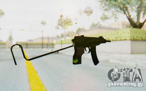 VZ-61 Skorpion Unfold Stock Tiger Stripes Camo для GTA San Andreas второй скриншот