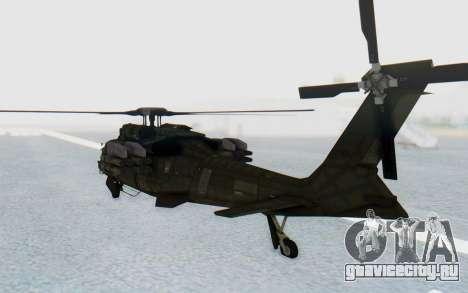 MGSV Phantom Pain UTH-66 Blackfoot для GTA San Andreas вид справа