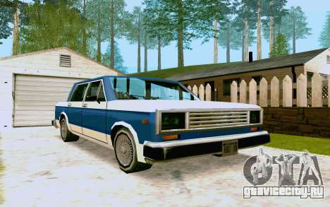 Bobcat Sedan для GTA San Andreas вид слева