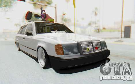 Mercedes-Benz W124 Stance Works для GTA San Andreas