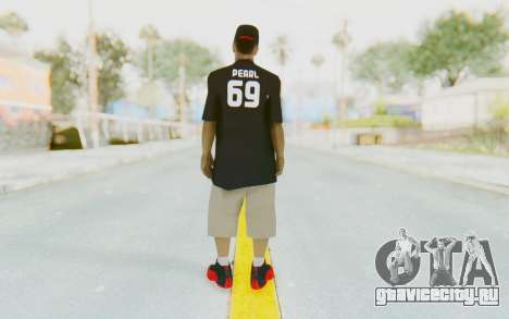 Ballas3 Skin для GTA San Andreas третий скриншот