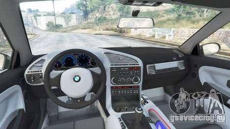 BMW M3 (E36) Street Custom для GTA 5 вид справа