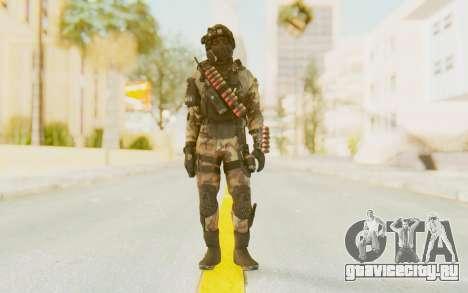 Federation Elite Shotgun Woodland-Flora для GTA San Andreas второй скриншот