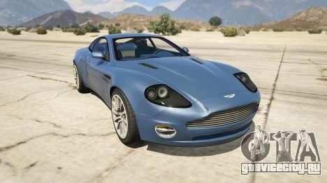 2001 Aston Martin V12 Vanquish для GTA 5