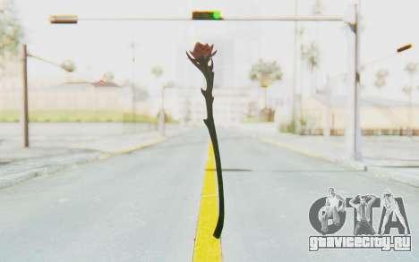 Sanguinerose Staff для GTA San Andreas второй скриншот
