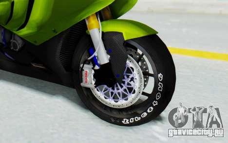 BMW S1000RR HP4 Modification для GTA San Andreas вид сзади