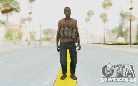 CoD MW3 Africa Militia v3 для GTA San Andreas второй скриншот