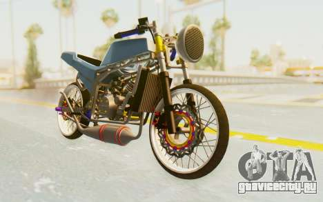 Kawasaki Ninja 150S Thailock для GTA San Andreas вид справа