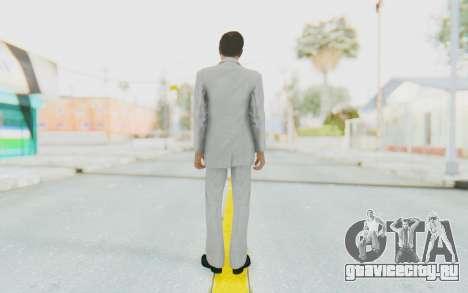 Mafia 2 - Vito Scaletta Madman Suit White для GTA San Andreas третий скриншот