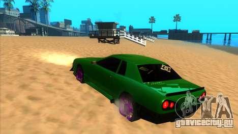 Elegy 1.3 by Mr.Phantom для GTA San Andreas вид сзади слева