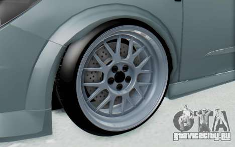 Opel Astra для GTA San Andreas вид сзади