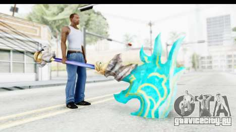 Orochi Weapon для GTA San Andreas третий скриншот