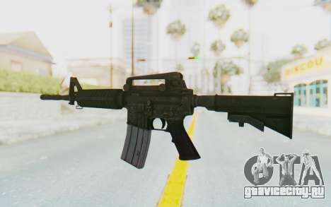 Assault M4A1 для GTA San Andreas второй скриншот