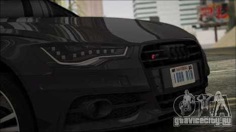 Audi S6 для GTA San Andreas вид сзади слева