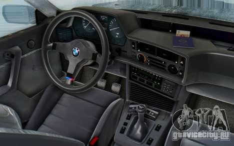 BMW M635 CSi (E24) 1984 HQLM PJ3 для GTA San Andreas вид сзади
