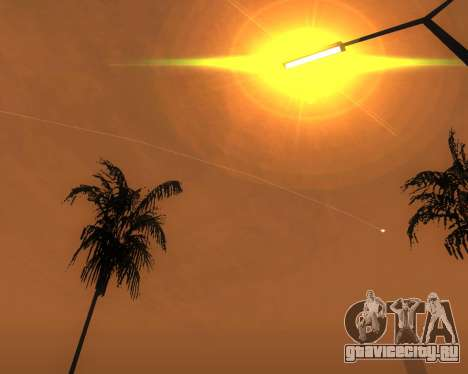 Реалистичное ENB для средних ПК V.1 для GTA San Andreas шестой скриншот