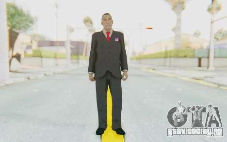 Barack Obama Skin для GTA San Andreas второй скриншот