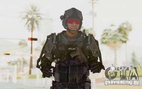 CoD Advanced Warfare ATLAS Soldier 2 для GTA San Andreas