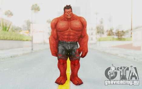 Marvel Future Fight - Red Hulk для GTA San Andreas второй скриншот
