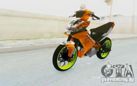 Yamaha Jupiter MX 135 Roadrace для GTA San Andreas