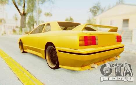 Elegy E30 для GTA San Andreas вид слева