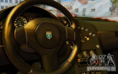 GTA 5 Grotti Cheetah IVF для GTA San Andreas вид сверху