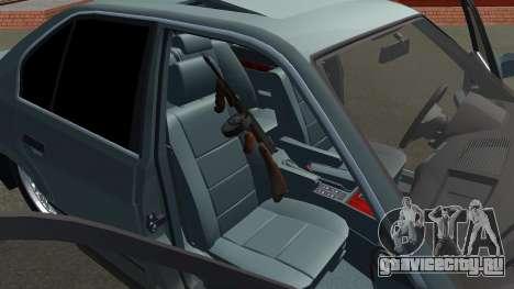 BMW 535i Gang для GTA San Andreas вид справа