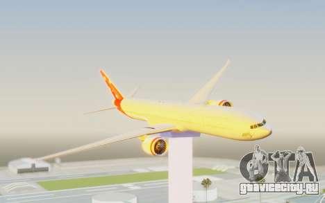 Boeing 777-300ER Virgin Australia v1 для GTA San Andreas вид сзади слева