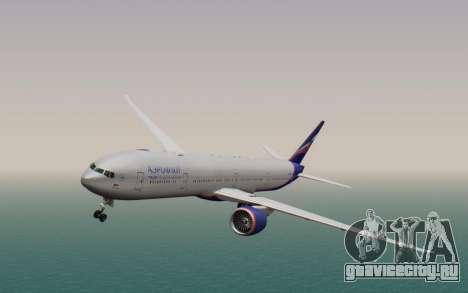 Boeing 777-300ER Aeroflot для GTA San Andreas