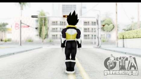 Dragon Ball Xenoverse Vegeta Timebreaker Fix для GTA San Andreas третий скриншот