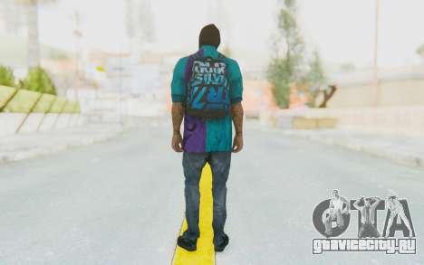 Robbery Skin для GTA San Andreas третий скриншот