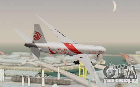 Boeing 777-300ER China Air для GTA San Andreas вид слева